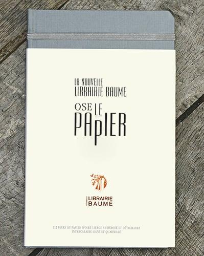 La Nouvelle Librairie Baume ose le papier