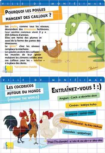 Panneaux ludo-éducatifs pac de Montélimar