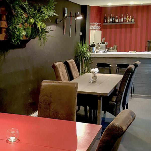 Salle de restaurant du Bistrot Canaille