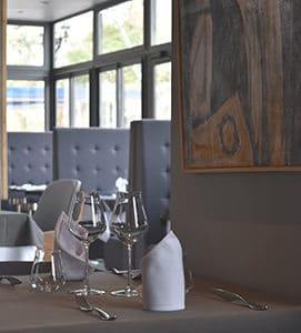 Perspective de la salle de restaurant du Café de l'Ardèche