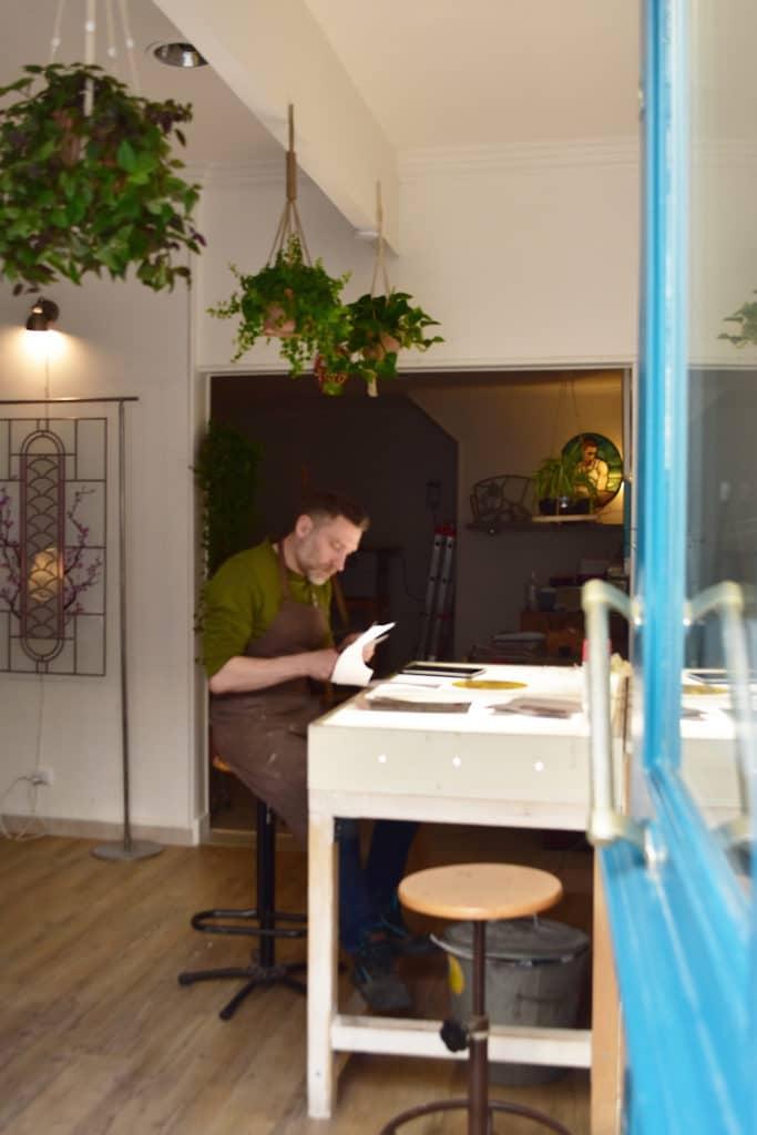 Pascal Rieu, l'artisan du vitrail
