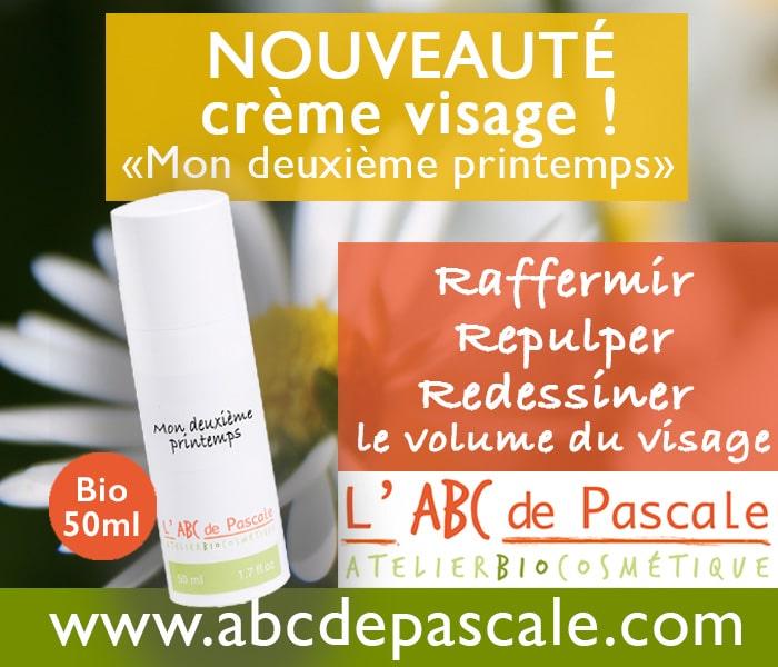 Crème deuxième printemps de l'abc de Pascale à Montélimar