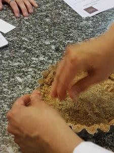 Réalisation d'une pâte végane