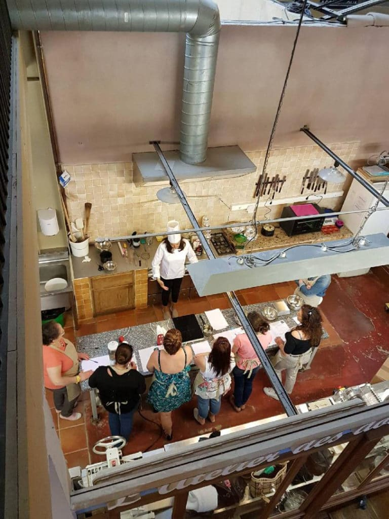 Atelier de cuisine chez Soubeyran
