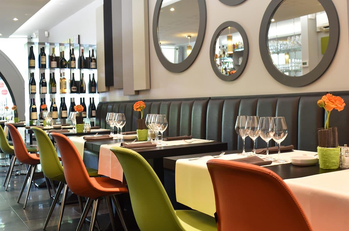 Le restaurant Le Moderne à Montélimar