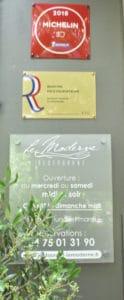 LE restaurant le Moderne salué par Le guide Michelin et sacré maître restaurateur