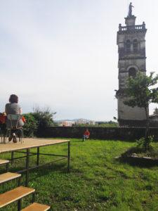 Répétition dans les jardins suspendus à Montélimar
