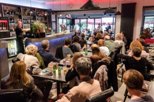 ambiance aux Cafés Littéraires de Montélimar